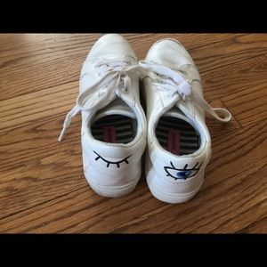 Betsy Johnson leather sneakers